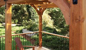 Incense Cedar Decking and Pergola