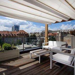 Idee per una terrazza design sul tetto