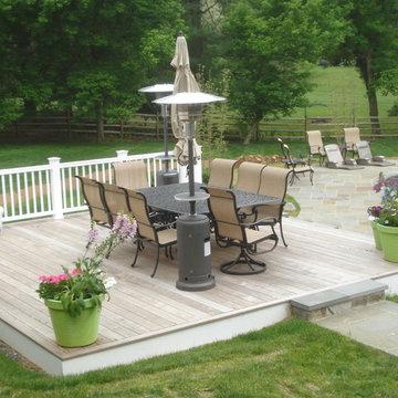 IPE Deck and Flagstone Pool Deck