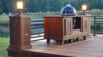 Ipe Deck and Pergola @ Lake Spivey