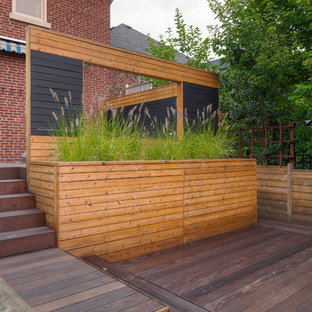 Ipe deck with hot tub