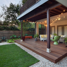 Contemporary Deck by Walk On Wood
