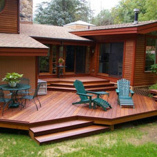 Contemporary Deck by Archadeck of Fairfield & Westchester Counties
