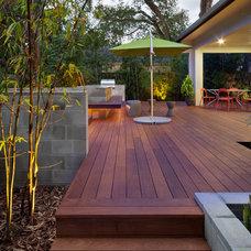 Contemporary Deck by e2 Homes