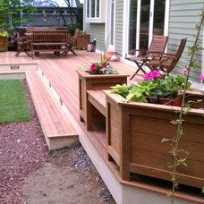 Traditional Porch by Phillip F Gaudette Construction Co. Inc.