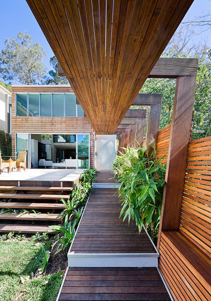 Contemporary Deck by Tim Stewart Architects