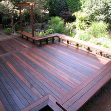 Contemporary Deck by Paul Johnson Carpentry & Remodeling