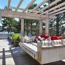 Beach Style Deck by Sunshine Coast Home Design