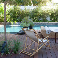 Asian Deck by itamar landscape design