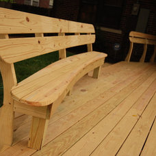 Traditional Deck by Gill Design & Construction LLC