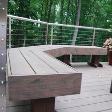 Contemporary Deck by T.W. Ellis LLC