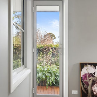 Inspiration for a small scandi terrace and balcony in Sydney.