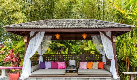夏に向けて! 旬なリゾートスタイルを庭で再現
