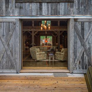 Deck - rustic deck idea in Charleston
