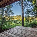 Decks Rustic Deck Denver By Michael Yearout