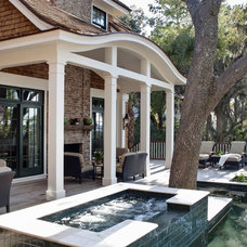 Traditional Deck by Morehouse MacDonald & Associates, Inc. Architects