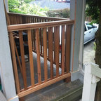 The Hot Tub Deck Traditional Deck Toronto By Paul