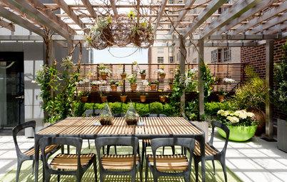 12 idées pour installer un claustra en bois dans un jardin