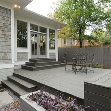 Traditional Deck by West Architecture Studio