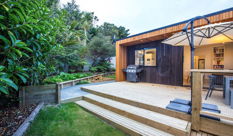 Houzz Tour: Father and Son's Compact Design for a Family Home