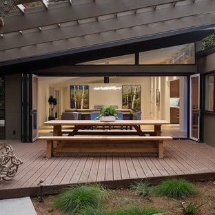 75 Beautiful Mid Century Modern Black Deck Pictures Ideas September 2020 Houzz