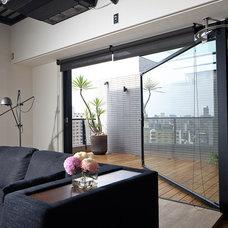 Contemporary Porch by PMK+designers