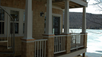 Lake front home in Newbury NH, renovation