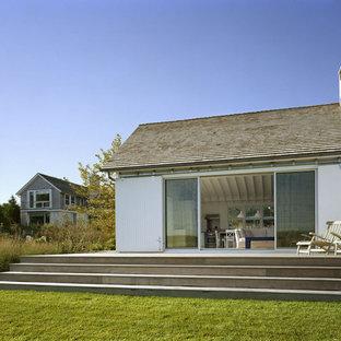 Idee per terrazze e balconi costieri dietro casa