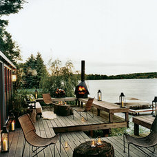 Rustic Deck by Thom Filicia Inc.