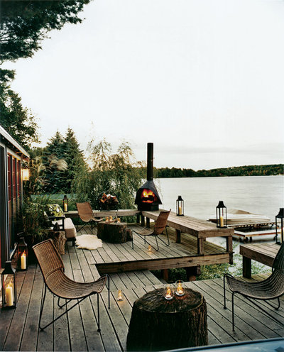 Rustic Terrace By Thom Filicia Inc