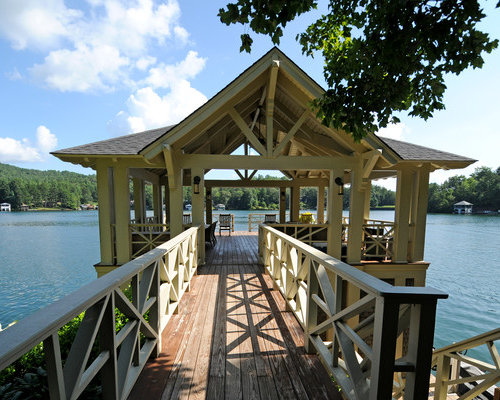 Custom Boat Dock Design Ideas, Pictures, Remodel And Decor