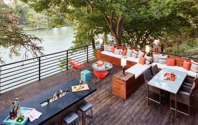 Party-Friendly Patio and Backyard Arrangements