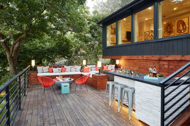 Contemporary Deck by Beth Dotolo, ASID, RID, NCIDQ