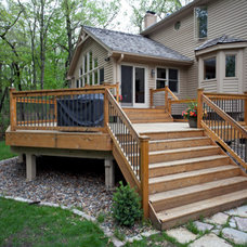 Traditional Deck by New Spaces