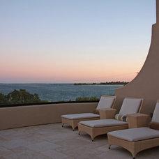 Mediterranean Deck by Landmark Builders