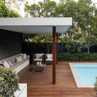 Lane Cove poolside cabana
