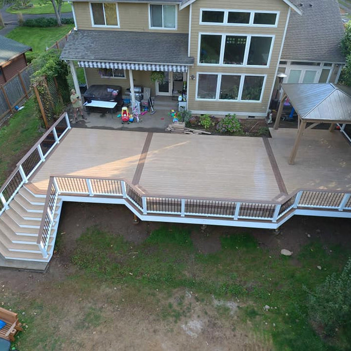 Large Auburn Lake Front Deck