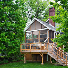 Traditional Deck by Archadeck of Suburban Boston