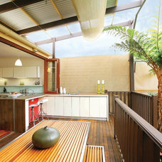 Contemporary Porch by Danny Broe Architect