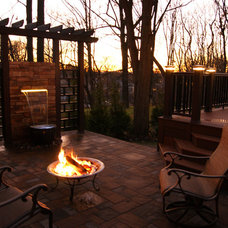 Eclectic Landscape by Deck Remodelers.com