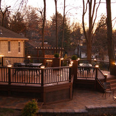 Eclectic Deck by Deck Remodelers.com