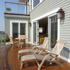 Traditional Deck by Michael McCloskey Design Group