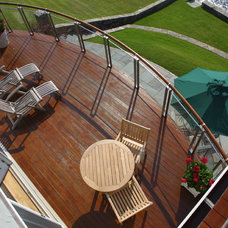 Contemporary Deck by Michael McCloskey Design Group