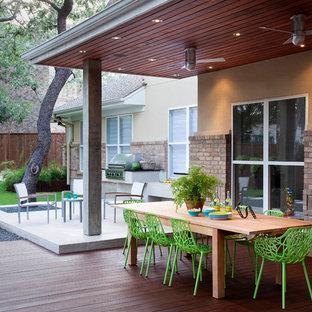 Ideas Para Terrazas Diseños De Terrazas De Tamaño Medio En