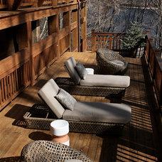Contemporary Deck by Roya De Vries Interior Design