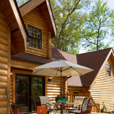 Traditional Deck by Home Design Elements LLC