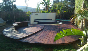 Lots of curves on this beautiful IPE deck
