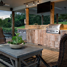 Traditional Deck by Ourso Designs