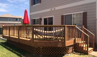 lower-level redwood deck