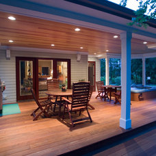Traditional Deck by Penn Contractors Inc